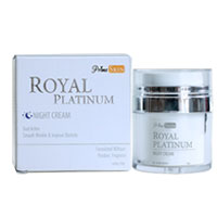 Royal Platinum Night Cream
